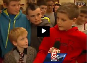 Band of Boys Rally Around Boy To Stop Teasing